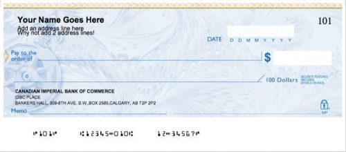 How do I get a void cheque?