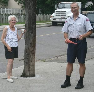 Canada Post Worker