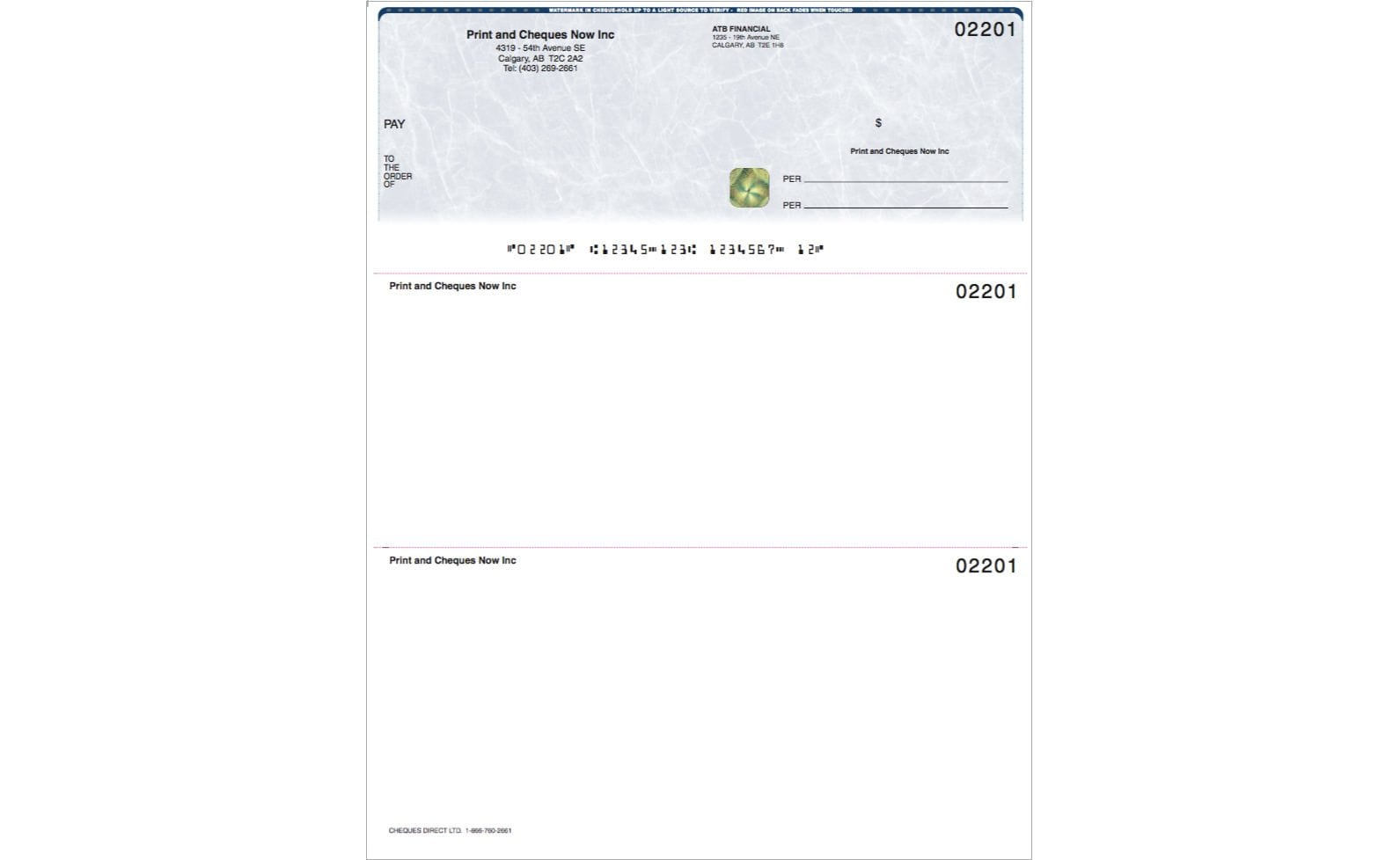 Computer & Laser Cheques - Save $113